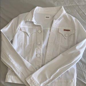 Hudson white Jean jacket
